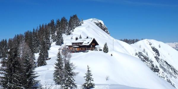 Goisererhütte 1592m (Winter)