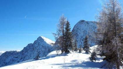 Rückblick von der Goiserer Hütte 1592m