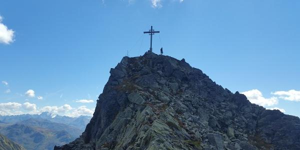 Gipfel Zamangspitze