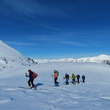 Foto von Skitour: Hochweber Spitze, in den Wölzer Tauern • Rottenmanner und Wölzer Tauern (26.02.2019 06:50:30 #1)