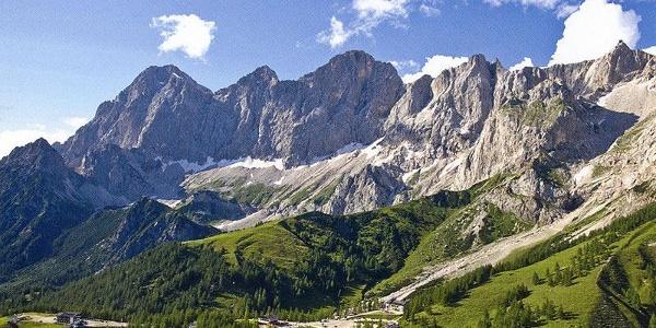 Almregion und Dachstein Südwand