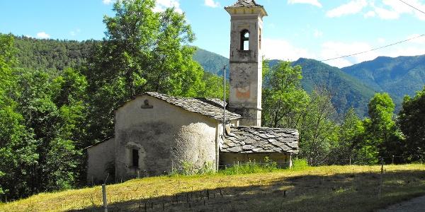 Die Kirche S. Antonio di Dragoniere.