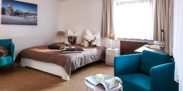 Haus Zimba II. Doppelzimmer