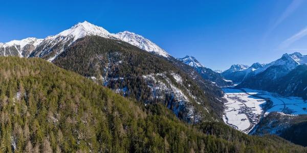 Tauferberg - Hoher Stein - Wiesle - Niederthai