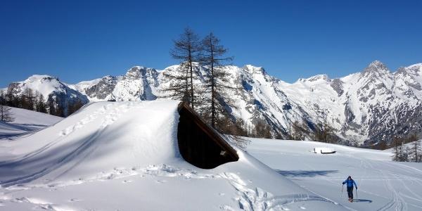 An der Bärenalm ~1650m vorbei
