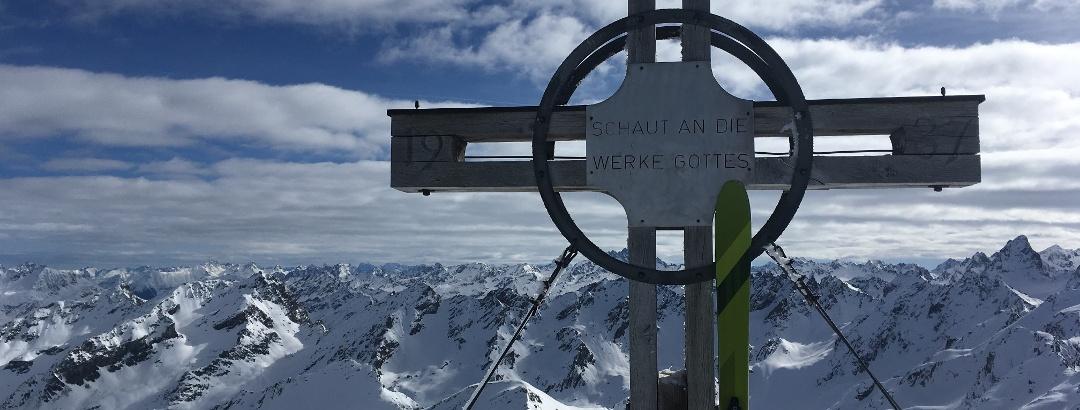 Gipfelkreuz Rotbühelspitze