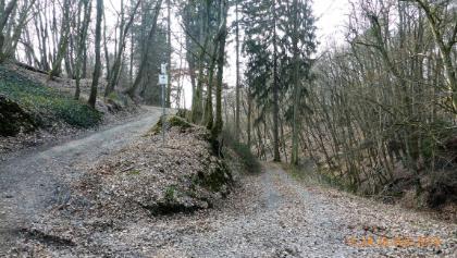 Abfahrt Ehrbachklamm
