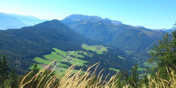 Blick in Richtung Tal auswärts - Brandenberg