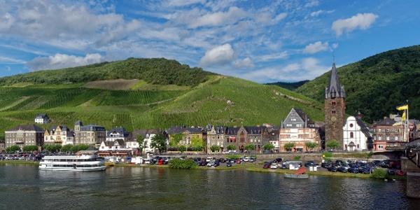 Bernkastel-Kues at the Mosel