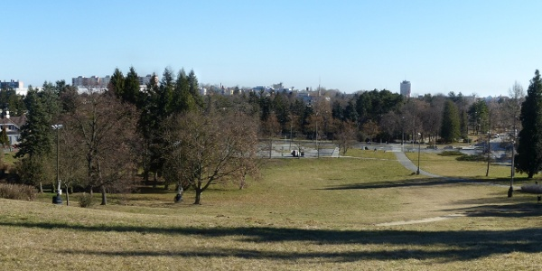 Szombathely panorámája az Emlékmű-dombról