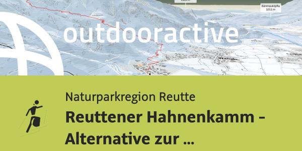 Skitour in der Naturparkregion Reutte: Reuttener Hahnenkamm - Alternative ...