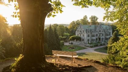 Blick zum Schloss Altenstein