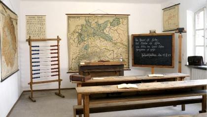 Das Klassenzimmer im Heimatmuseum Hebertsfelden