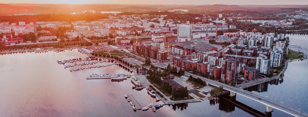 Jyväskylä, die größte Stadt der Region