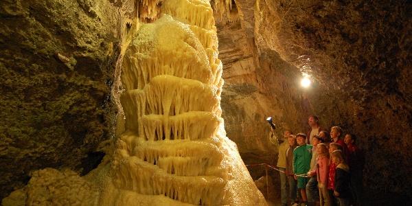 Hochzeitstorte in der Eberstadter Tropfsteinhöhle