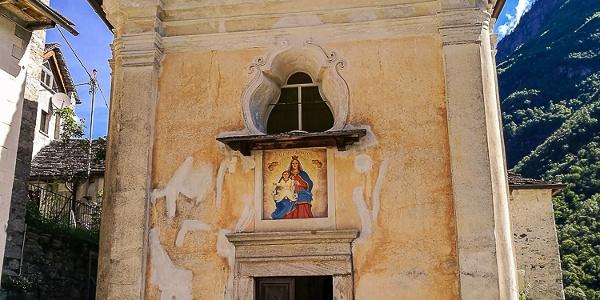 Die Kirche in Corippo