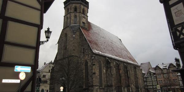 Blasiuskirche in Hann. Münden (Feb. 2013)
