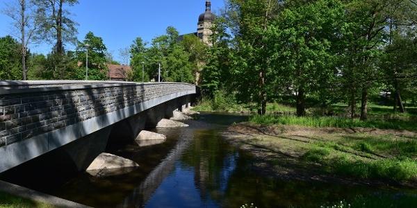 Elsterbrücke bei Kürbitz