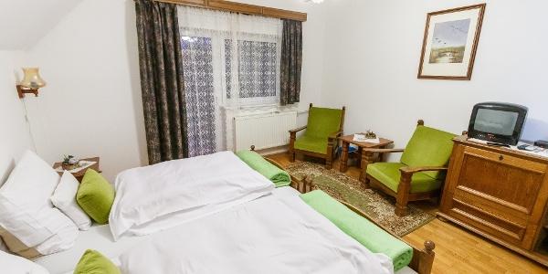 A Zseri vadászház egy szobája
