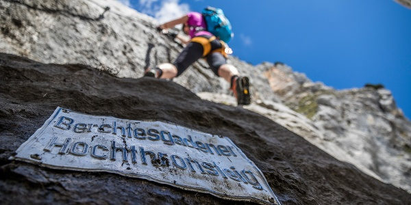 Berchtesgadener Hochthronsteig