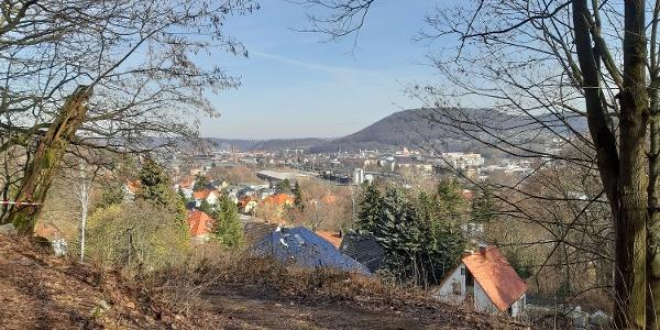 Blick über Hainsberg