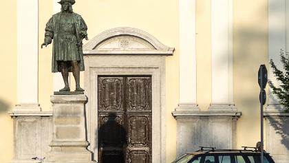 Maximilians Statue in Cormons