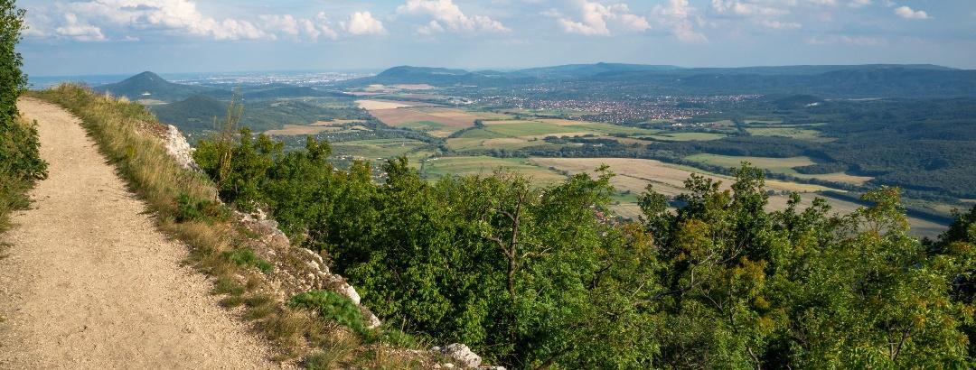 Grófi út, fejedelmi kilátás (Pilis-tető)