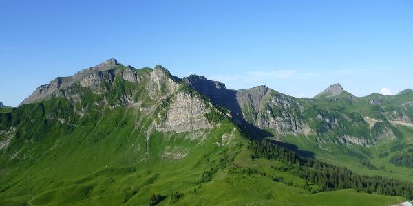 Blick vom Gipfel der Kanisfluh