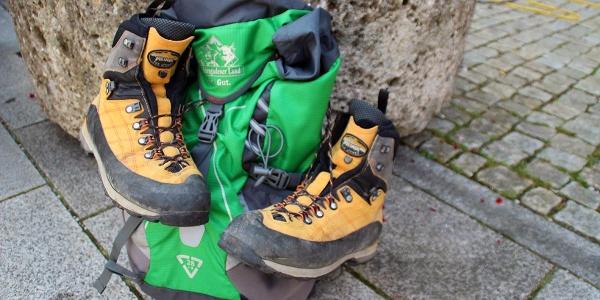 Da glühen die Schuhe: 24 Stunden wandern