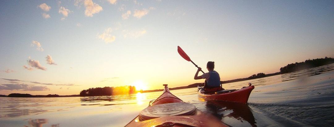 Kayaking im Schärenmeer