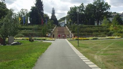 im Kurpark Bad Wildungen (Mai 2008)