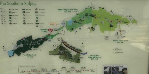 Southern Ridges - Fraser Point - Sentosa hike • Hiking Trail ...