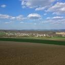 Blick über Königsfeld Richtung Siebengebirge