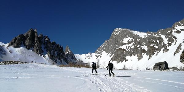 Jagdhütte auf 1.940 m - wunderschöner Rastplatz