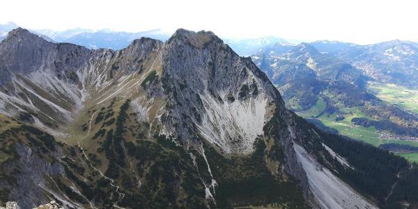 Rubihorn Ostwand vom Entschenkopf
