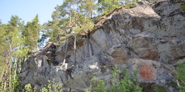 Kolmiköytisienvuori-Hügel