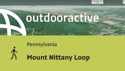 hiking trail in Pennsylvania: Mount Nittany Loop
