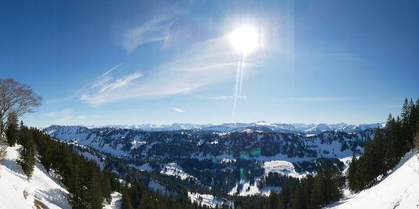 Skitour im Allgäu: Auf Skiern den Seelekopf hinauf