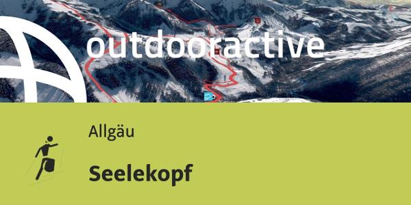 ski touring route in the Allgaeu Region: Seelekopf