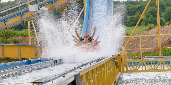 Eifelpark Wildwasserbahn Pirateninsel