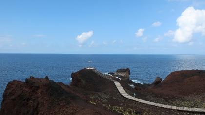 Blick auf das Meer von der Punta de Teno