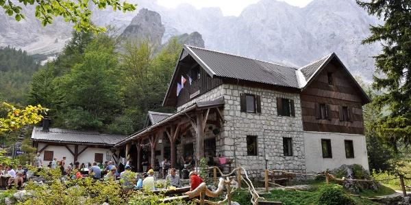 Hütte im Südwesten des Logartales