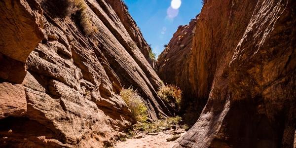 Zum Tunnel Slot Canyon