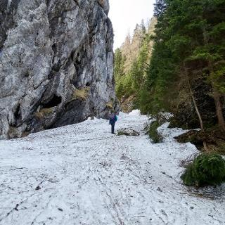 Viel Schnee im Kesselgraben