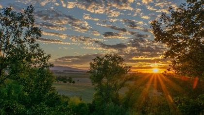 Spiegelsberge Sonnenuntergang, Stefan Herfurth