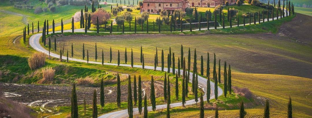 Tuscany's Chianti wine region from Florence to Siena