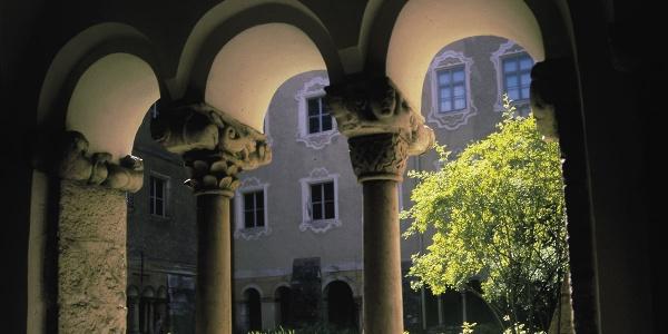 <![CDATA[Der Kreuzgang der Stiftskirche Berchtesgaden]]>