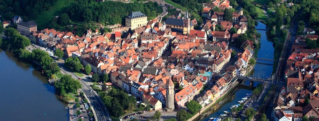 Luftbild Wertheim