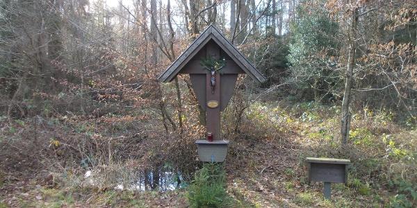 Wegekreuz der Bornheimer Ahrweilerpilger an Villiper Allee