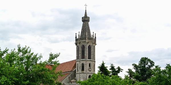 A soproni Szent Mihály főangyal-templom tornya